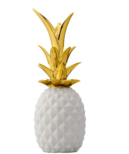 Ananas blanc et or